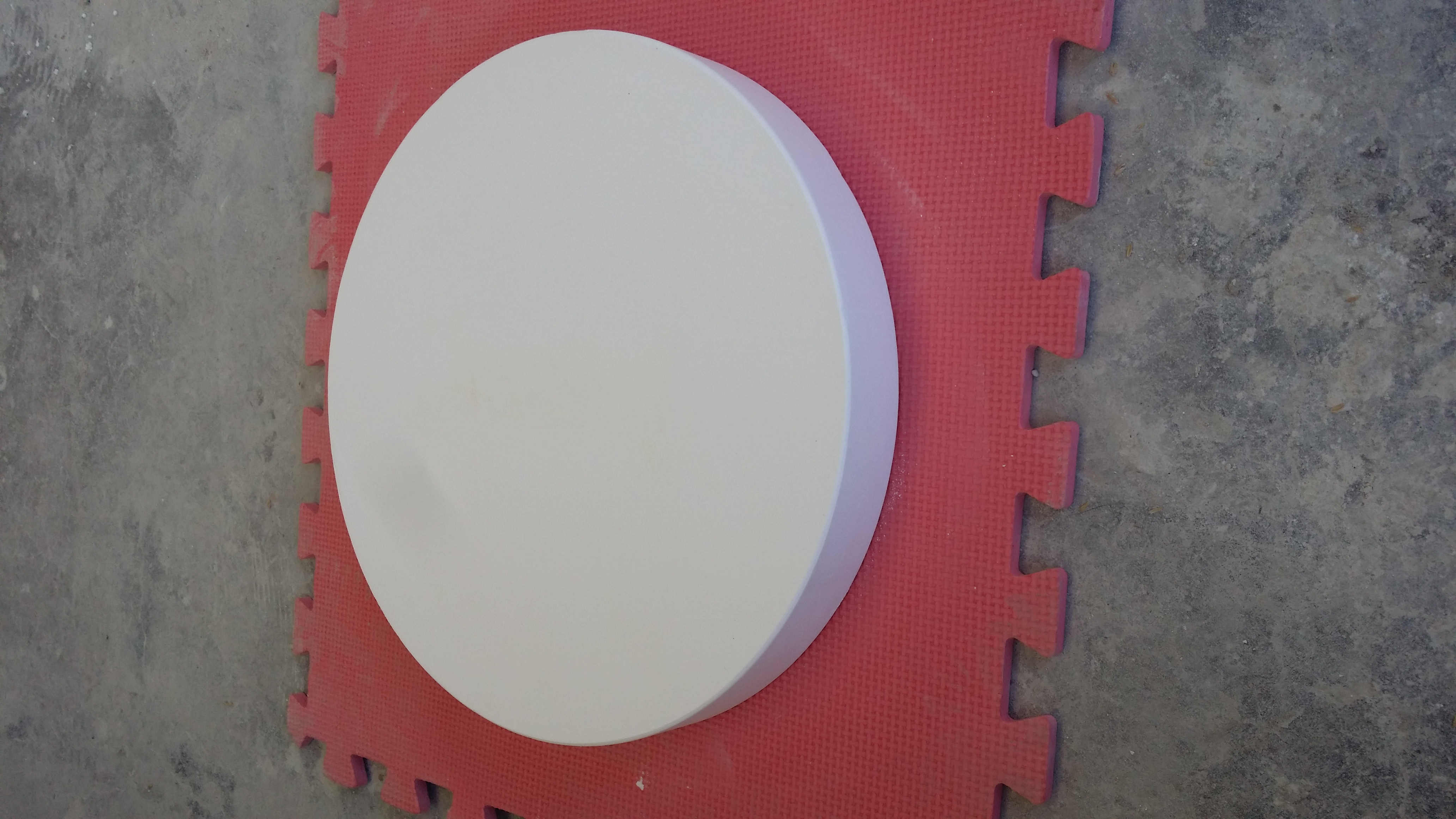 石英圆形托盘砖